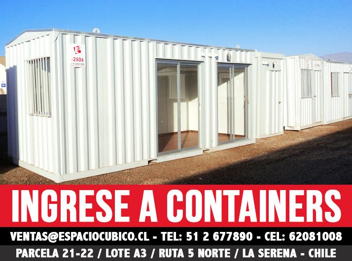 Venta y arriendo de containers arriendo de bodegas y minibodegas la serena iv regi n de - Casas de containers precios ...